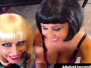 Scientific Mummies Julia Ann & Jessica Jaymes Share Penis!