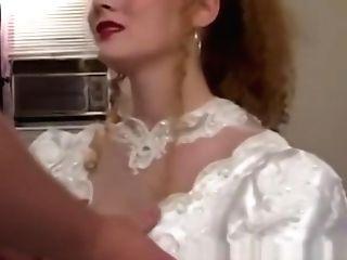 Kinky Bride Doggystyled Passionately Before Eating Jizz