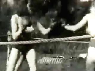 Antique German Boxing.