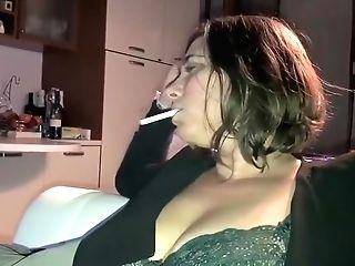 Smoking Unfiltered Gitanes