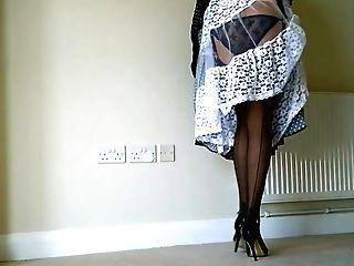 Amazing Japanese Model In Best Stockings, Retro Jav Scene