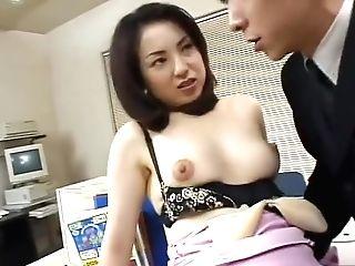 Akiko Kirishima Office Love