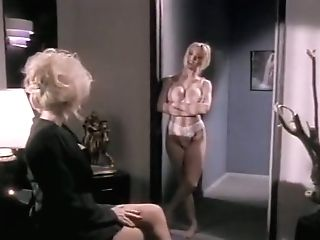 Finest Bald Retro Scene With Kaitlyn Ashley And Nicole Lace