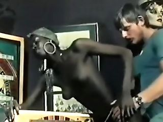 Finest Black And Dark-hued, Antique Pornography Scene