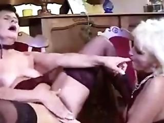 Classical All Girl Granny Scene