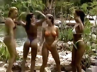 Bathing Suit Contest (early 90's) Real Ladies From Cancun, Mexico