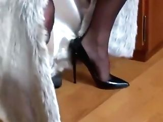 Crazy Fledgling High Stilettos, Retro Porno Scene