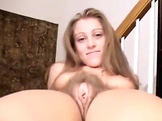 Hairy Pubic Hair Blonde Retro