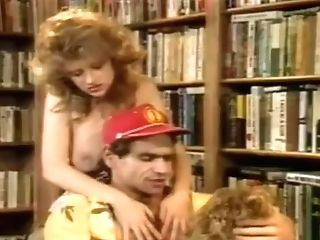 Antique Porno With Some Hot Women Banging In Library