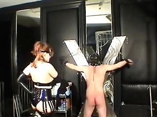 The Female Dom-princess Fondles Her Serf