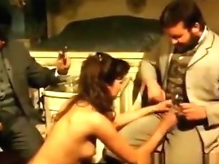 Antique Dark-haired Beauty Smashed Up Her Hairy Slit