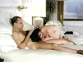 Dark-haired Fucked On Couch