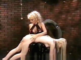 Uber-cute Taut Arse Blonde Learns How To Be A Good Gimp