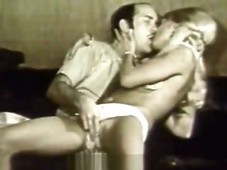 Blonde Damsel Hypnotized In To Having Bang-out (1960s Antique)