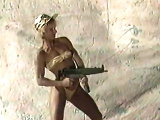 Dolls Shooting Machineguns 1